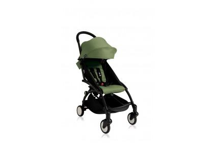 Babyzen Yoyo+ 6+ Baby Stroller - Black Frame (Peppermint)