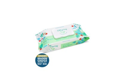Offspring Natural Baby Wipes 80ct 4-Pack Bundle (Expiry Date: 10/12/2021)
